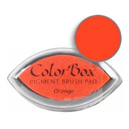 Colorbox Ink Pigment Orange Cat's Eye Pad