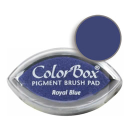 Colorbox Ink Pigment Royal Blue Cat's Eye Pad