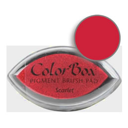 Colorbox Ink Pigment Scarlet Cat's Eye Pad