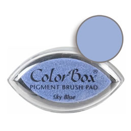 Colorbox Ink Pigment Sky Blue Cat's Eye Pad