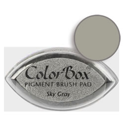 Colorbox Ink Pigment Sky Gray Cat's Eye Pad