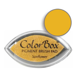 Colorbox Ink Pigment Sunflower Cat's Eye Pad