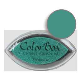 Colorbox Ink Pigment Turquoise Cat's Eye Pad