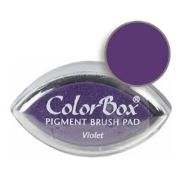Colorbox Ink Pigment Violet Cat's Eye Pad