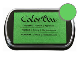 Colorbox Ink Pigment Applemint Pad