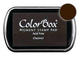 Colorbox Ink Pigment Chestnut Pad