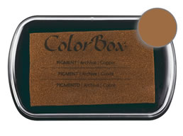 Colorbox Ink Pigment Copper Pad