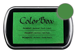 Colorbox Ink Pigment Fresh Green Pad