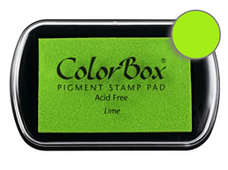 Colorbox Ink Pigment Lime Pad