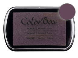 Colorbox Ink Pigment Plum Pad