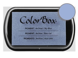 Colorbox Ink Pigment Sky Blue Pad