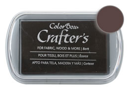 Colorbox Crafter's Ink Fabric Bark Pad