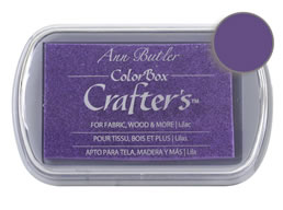 Colorbox Crafter's Ink Fabric Lilac Pad