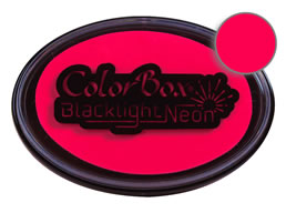 Colorbox Hot Pink Blacklight Neon Stamp Pad