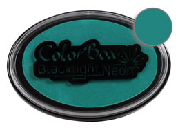 Colorbox Jade Blacklight Neon Stamp Pad