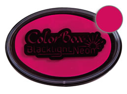 Colorbox Pizzazz Blacklight Neon Stamp Pad