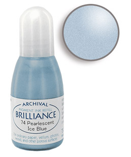 Brilliance Ice Blue Re-Inker