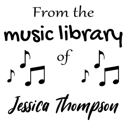 From the music library rubber stamp, choice of 30+ ink colors, customize instantly online, personalize name, special note and more. No minimums, fast turnaround, quality guaranteed.
