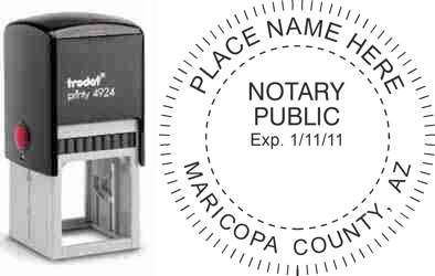 Notary Stamp Arizona