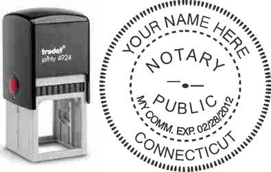 Notary Stamp Connecticut