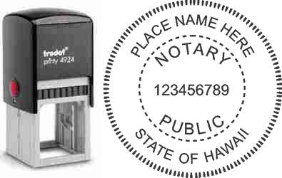 Notary Stamp Hawaii
