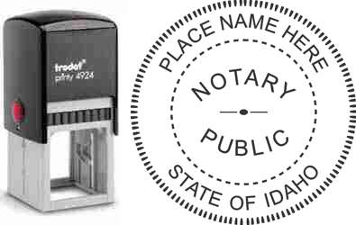 Notary Stamp Idaho