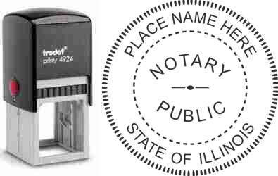 Notary Stamp Illinois