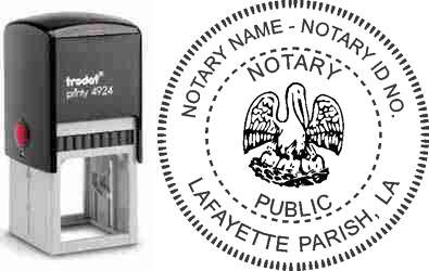 Notary Stamp Louisiana