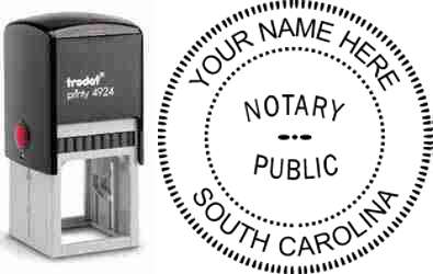 Notary Stamp South Carolina