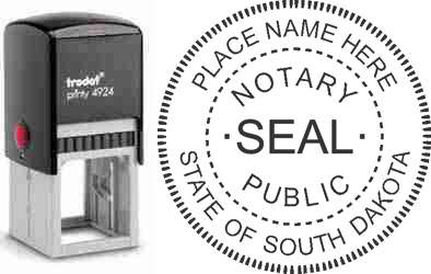 Notary Stamp South Dakota