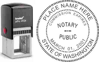 Notary Stamp Washington