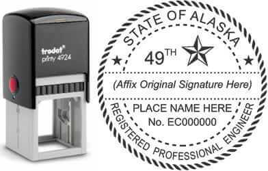 Alaska PE Stamp | Alaska Professional Engineer Stamp