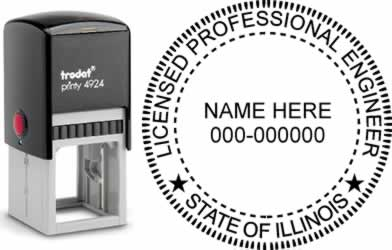 Illinois PE Stamp | Illinois Professional Engineer Stamp