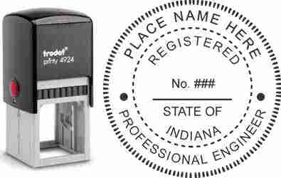 Indiana PE Stamp | Indiana Professional Engineer Stamp