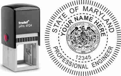 Maryland PE Stamp | Maryland Professional Engineer Stamp