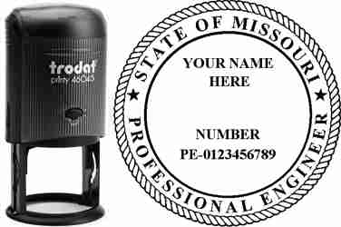 Missouri PE Stamp | Missouri Professional Engineer Stamp