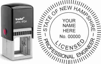 New Hampshire PE Stamp | New Hampshire Professional Engineer Stamp