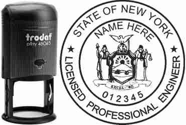 New York PE Stamp | New York Professional Engineer Stamp