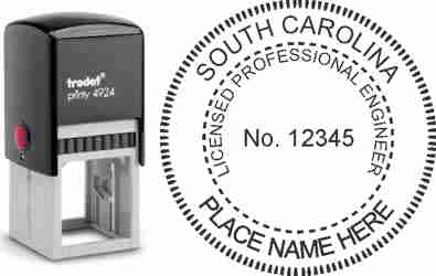 South Carolina PE Stamp | South Carolina Professional Engineer Stamp