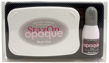 StazOn Opaque Blush Pink Set