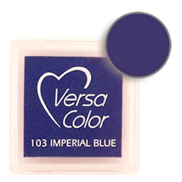 Versacolor Ink Pad Imperial Blue Cube
