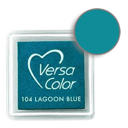 Versacolor Ink Pad Lagoon Blue Cube