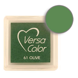 Versacolor Ink Pad Olive Cube