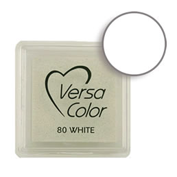 Versacolor Ink Pad White Cube
