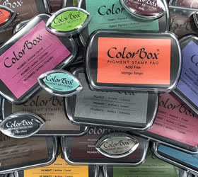 Colorbox Vibrant Pigment Stamp Pads